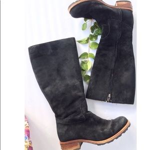 UGG Broome Black Suede Boots|Size 6